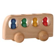 Konrad Keller natural bus with 4 peg people