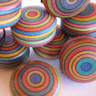 Striped yo-yo