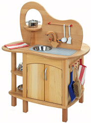 double-sided play kitchen