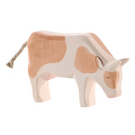 Ostheimer cow brown & white, eating