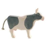 Ostheimer cow black and white, standing