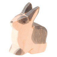 Ostheimer black & white rabbit sitting