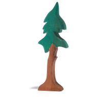 Ostheimer tall spruce tree, with support