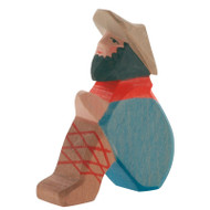 Ostheimer classic nativity shepherd sitting