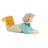 Ostheimer classic nativity shepherd lying