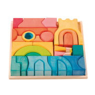 Ostheimer rainbow castle block set