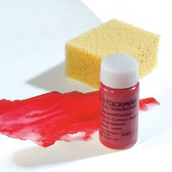 Stockmar circle paint red