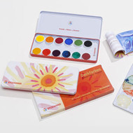 Stockmar paints in a tin, 12 colours