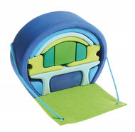 mobile home, blue-green 14 pcs.