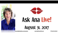 Ask Ana: Instagram Live Chat - August 31, 2017