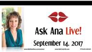 Ask Ana: Instagram Live Chat - September 15, 2017
