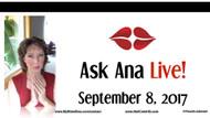 Ask Ana: Instagram Live Chat - September, 8 2017