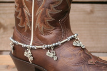 Boot Candy Biker  Gun Metal Gray  and Cruiser