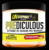Unstoppable Nutrition PreDiculous Extreme Fat Burning Pre-Workout