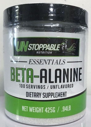 Unstoppable Essentials Beta Alanine