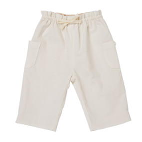 Baby Cord Pull-On Trousers - Off White