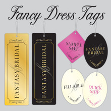 Fancy Dress Tags