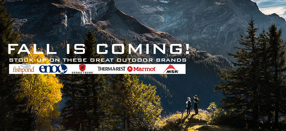 Stock Up On These Great Outdoor Brands!