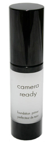 Camera Ready can also be worn alone, and reduces appearance of enlarged pores. Its mattifying actions lasts all day and leaves skin feeling silky.