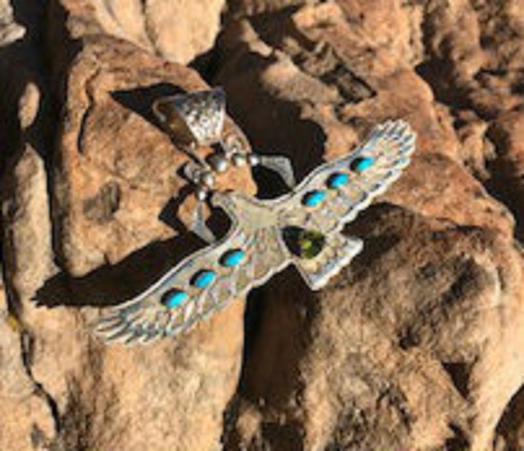 Chaco Canyon Eagle Pendant