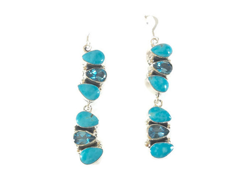 Blue Topaz and Turquoise