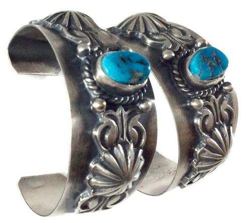 .925 Sterling Silver Kingman Turquoise