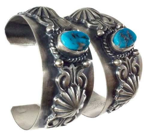 .925 Sterling Silver Kingman Turquoise