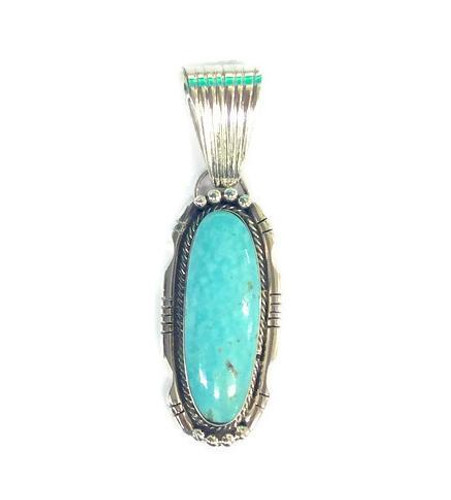 Elongated Kingman Turquoise
