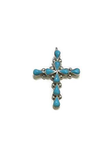 Zuni Cross Pendant