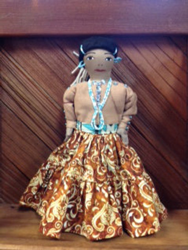 Chaco Canyon Large Handmade Native American Doll