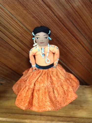 Chaco Canyon Med Handmade Native American Doll
