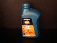 Repsol Moto V-TWIN 20W50 for big liquid or air cooled 4 stroke V-Twin engines that find this mineral lubricant oil most suitable for optaining maximum performance with the least wear. It ensures optimum performance in the most diverse comditions and easily supports the high temperatures which are characteristic of this type of high capacity two-cylinder engine. It also has considerable resistance to evaporation and is suitable for long journeys without stops. •20W50 API SJ •JASO T903:2006 MA