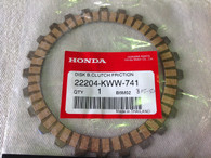 NBC110 AND CRF110 CLUTCH PLATE B GENUINE HONDA