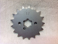 17 TOOTH FRONT SPROCKET CT110