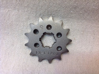 13 TOOTH FRONT SPROCKET CT110