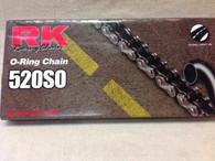 520 SO 'O'RING CHAIN RK RACING