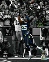 Richard Sherman Autographed 8x10 Photo Seattle Seahawks RS Holo Stock #86891