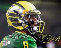 "Marcus Mariota Autographed 16x20 Photo Oregon Ducks ""Heisman '14"" MM Hologram"