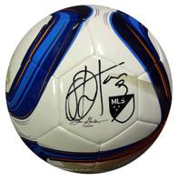 Obafemi Martins Autographed Adidas Nativo Soccer Ball Match Ball Glider