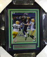 Chris Matthews Autographed Framed 8x10 Photo Seattle Seahawks The Recovery