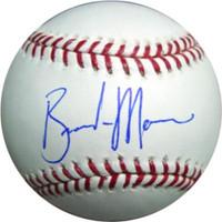 Brandon Morrow Autographed Official MLB Baseball Seattle Mariners MCS Holo Stock #1070