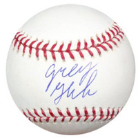 Greg Halman Autographed Official MLB Baseball Seattle Mariners PSA/DNA RookieGraph Stock #22257