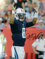 Marcus Mariota Autographed 16x20 Photo Tennessee Titans MM Holo Stock #94940