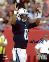 Marcus Mariota Autographed 8x10 Photo Tennessee Titans MM Holo