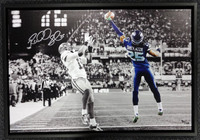 Richard Sherman Autographed Framed 20x30 Canvas Photo Seattle Seahawks The Tip #/125 RS Holo
