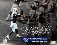 Marcus Mariota Autographed 8x10 Photo Tennessee Titans First Game MM Holo