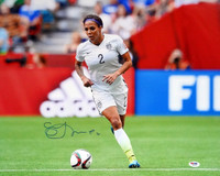 Sydney Leroux Autographed 16x20 Photo Team USA PSA/DNA