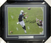Marcus Mariota Autographed Framed 8x10 Photo Tennessee Titans First Game MM Holo