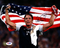 Abby Wambach Autographed 8x10 Photo Team USA PSA/DNA