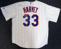 New York Mets Matt Harvey Autographed White Majestic Jersey Size XL MLB Holo